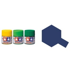 Gloss Royal Blue, Azul Royal Brillo (81503). Bote 10 ml. Marca Tamiya. Ref: X-3.