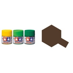 Flat Red Brown, Marron Rojizo Mate (81764). Bote 10 ml. Marca Tamiya. Ref: XF-64.