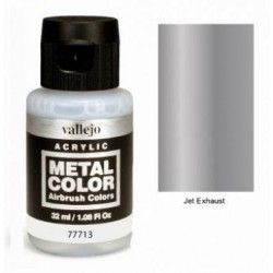 Acrilico Metal color, Tobera reactor. Bote 32 ml. Marca Vallejo. Ref: 77713.