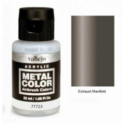 Acrilico Metal color, Colector escape. Bote 32 ml. Marca Vallejo. Ref: 77723.