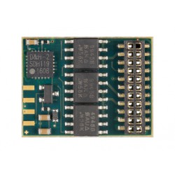 Decodificador DH21A-4, SX1, SX2, DCC y MM, 21 pines, muy fino.