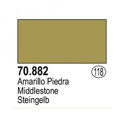 Acrilico Model Color, Amarillo piedra ( 118 ). Bote 17 ml. Marca Vallejo. Ref: 70.882.