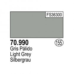 Acrilico Model Color, Gris palido ( 155 ). Bote 17 ml. Marca Vallejo. Ref: 70.990.