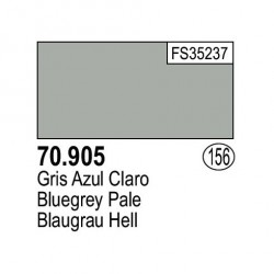 Acrilico Model Color, Gris Azul claro ( 156 ). Bote 17 ml. Marca Vallejo. Ref: 70.905.
