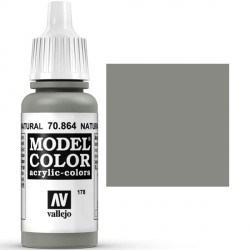 Acrilico Model Color, Acero natural ( 178 ). Bote 17 ml. Marca Vallejo. Ref: 70.864.