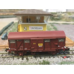 Vagón Postal, Tipo Grs, RENFE, Serie Maquetren. Marca Arnold, Ref: HNS6417