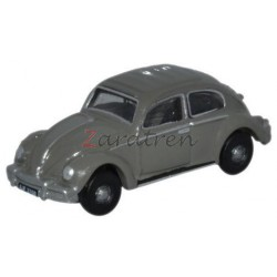 Escarabajo VW Beetle Antracita Gris, Escala N. Marca Oxford, Ref: NVWB004.
