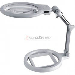 Lupa Plegable con 2 luces LED. Marca Dismoer. Ref: 19206.