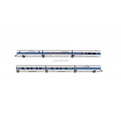 "Talgo "" InterCityNight "", seis coches, DB AG, Escala N. Marca Arnold, Ref: HN4310."