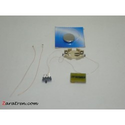 Kit luces de cola, intermitentes y independientes, a pila y con smd.