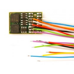 Decodificador DH16A-3, SX1, SX2, DCC y MM, de cables, muy fino.