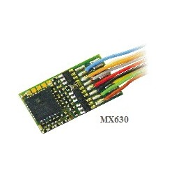 Decodificador serie MX630. De cables. Marca Zimo. Ref. MX630.